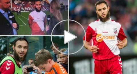 لاعب مغربي الأصل يرفض مصافحة صحافية هولندية مثيرًا الجدل
