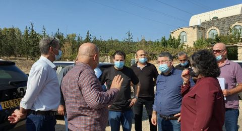 جولة ميدانية لنواب الجبهة في قرى مرج ابن عامر