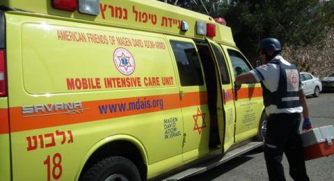 القدس: اصابة خطرة لشخص نتيجة لانفجار داخل مستودع للنفط