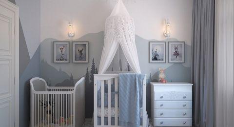 ديكور غرفة المولود الجديد