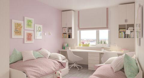تنسيق ألوان غرف نوم بنات