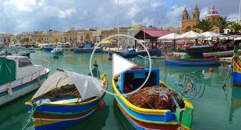 رحلة سياحية افتراضية إلى مالطا