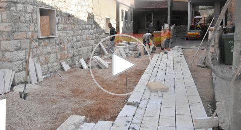 فسوطة: اعمال تطوير وترميم في ظل الكورونا