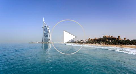 بالفيديو : أجمل الأماكن السياحية في جميرا دبي
