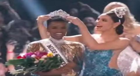 حسناء جنوب إفريقيا تفوز بمسابقة ملكة جمال الكون