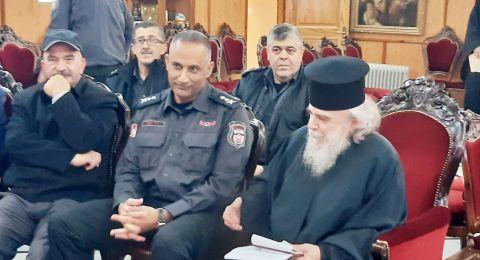 لأول مرة: قائد سلطة الإطفاء والإنقاذ يلتقي رؤساء الكناس في القدس ويزور بطريركية الروم الأرثوذوكس