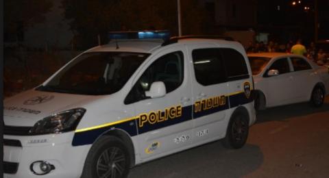 كفر قرع: مطاردة تنتهي باصطدام مركبة خصوصية بسيارة شرطة