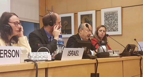 حكروش في الأمم المتحدة:  هنالك تغيير في شرطة إسرائيل في كل ما يتعلق بالمساواة والعدالة من اجل المواطن العربي
