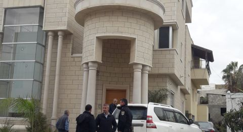 سخنين: إلقاء القبض على مشتبهين بحادثة اطلاق النار تجاه منزل د. أبو ريا