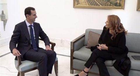 الرئاسة السورية ستبث مقابلة للأسد مع القناة الإيطالية