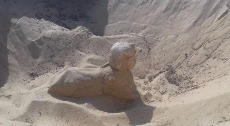 مصر: العثور على تمثال ملكي على هيئة
