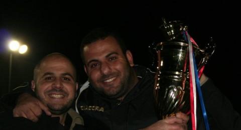 اللجنة الرياضية تكرم فريق حراس المسجد الاقصى المبارك
