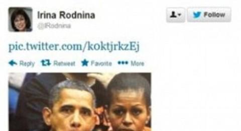 المرأة التي جعلت أوباما قردا .. تكرم في الأولمبياد