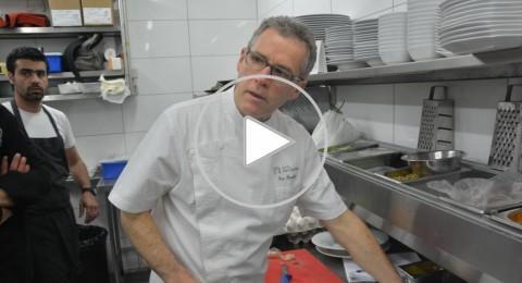 الشيف الفرنسي المعروف بروفو يجلب المطبخ الفرنسي ويبدع بالناصرة