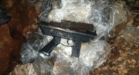 العثور على اسلحة في البعنة ودير الأسد