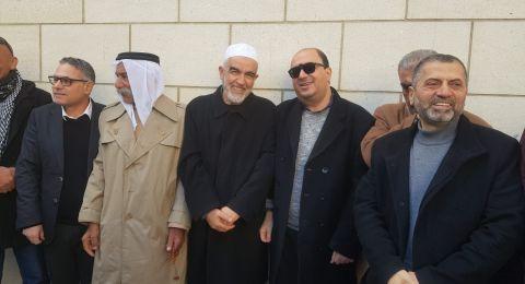 في أعقاب القرار الجائر ضد الشيخ صلاح، المشتركة: مطلب الساعة تعزيز وحدتنا الوطنية