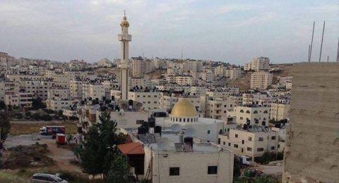 بيت عزا المرحوم حسين أبو العنين في بلدة أم الشرايط