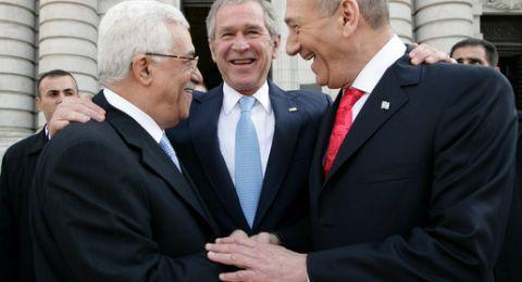 أولمرت في لقائه مع أبو مازن: لا ينوي شن حرب ضد إسرائيل أو ضد خطة ترامب