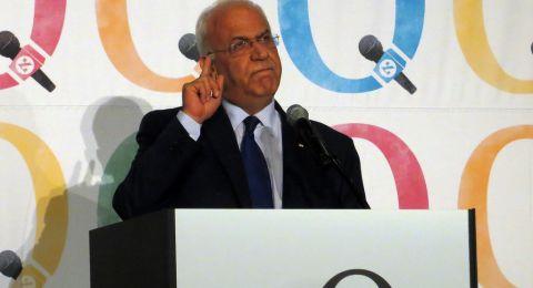 عريقات: ما يروج حول سحب مشروع القرار المقدم لمجلس الأمن عار عن الصحة