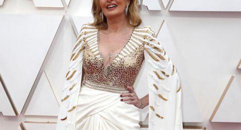 يسرا تظهر في حفل الأوسكار 2020 بفستان فرعوني