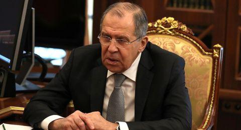 لافروف يبحث مع بيدرسن الوضع في سوريا