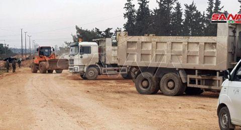 تركيا تدفع بقواتها إلى إدلب.. والجيش السوري يتقدم