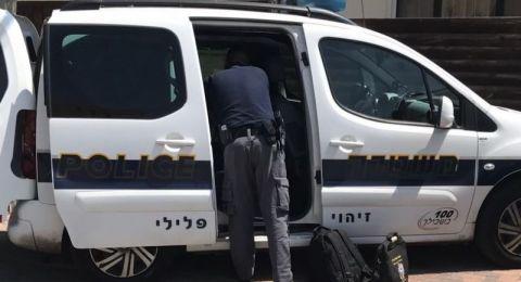 طمرة: اعتقال شاب قام بالسطو على منزل مسنين