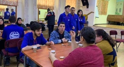 فعالية مميزة لأصحاب القدرات المميزة للشبيبة العاملة والمتعلمة في الجماهيري أبو سنان