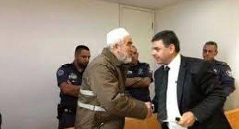 بدء النطق بقرار العقوبة على الشيخ رائد صلاح