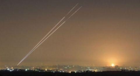 بعد دقائق من تهديدات نتنياهو.. إطلاق قذائف صاروخية من قطاع غزة باتجاه مناطق الغلاف
