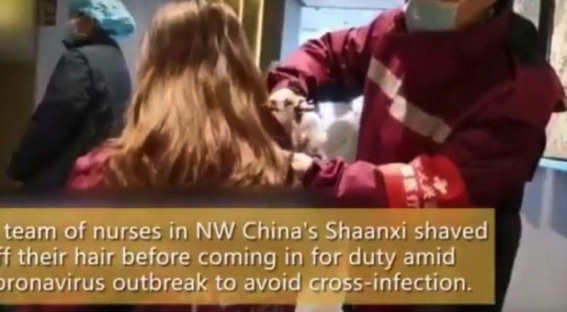 خوفا من نقل كورونا.. ممرضات صينيات يضربن أروع الأمثلة في التضحية