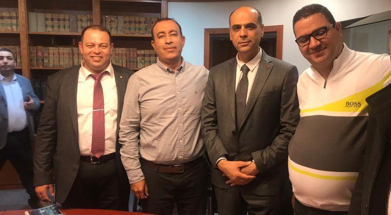 حيفا: لجنة المحاكم الشرعية في نقابة المحامين تجتمع مع مدير المحاكم