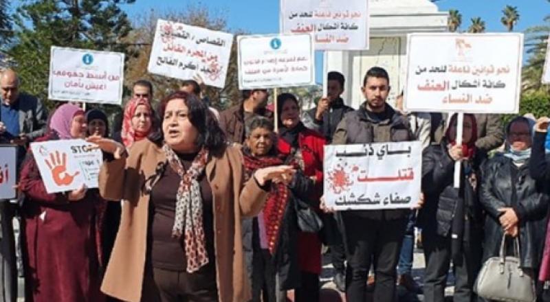 غزة: وقفة صامتة ضد قتل النساء