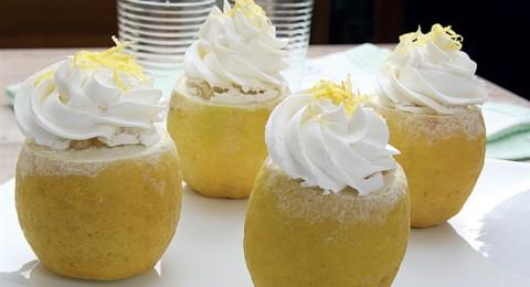 البوظة في أكواب الليمون