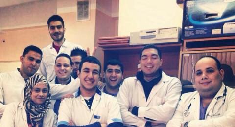 طلاب طب من مولدوفا يهنئون الناصرة ورئيس بلديتها علي سلاّم