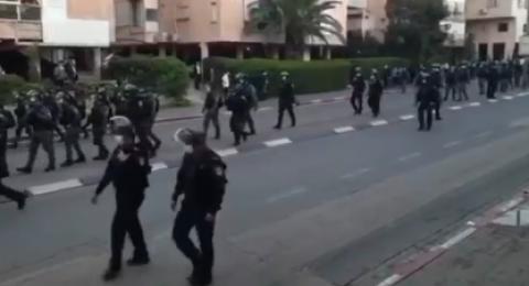 قوات حرس الحدود تصل إلى المدن المختلطة لمنع الاحتجاجات وسيادة الهدوء فيها