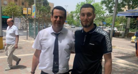 الافراج عن الشاب يحيى مراد من كفر مندا بعد اعتقاله بالمسجد الأقصى