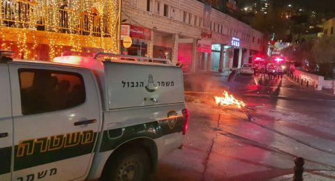 الحزب الشيوعي وجبهة الناصرة يدينان العدوان البوليس الدموي على المتظاهرين