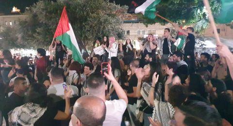 مباشر: اصابات و 26 معتقلا حتى الآن في الناصرة