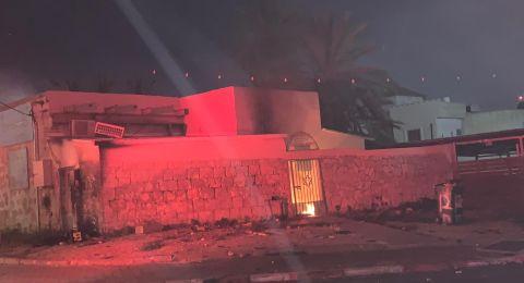 اللد: اعتقال 43 محتجًا واحراق 6 منازل في الجواريش وكنيس