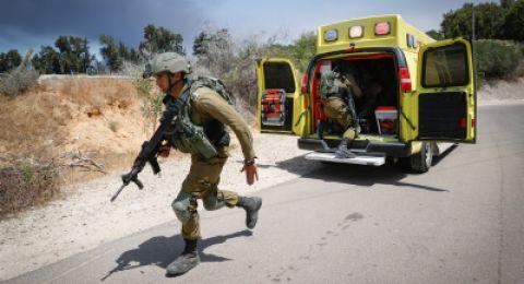 أنباء عن مقتل جندي اسرائيلي واصابة اخر بصورة بالغة عند الحدود مع غزة