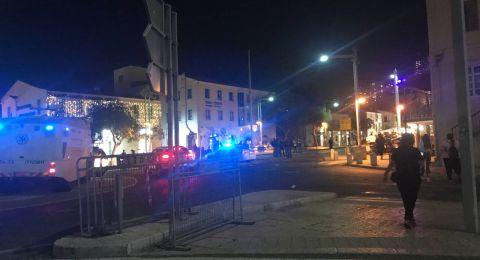 حيفا: اعتقالات بالجملة واليمين يعتدون على العرب بحماية الشرطة! وحرائق بالشوارع