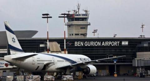 إسرائيل توجه كافة الطائرات من مطار بن غوريون لقبرص واليونان