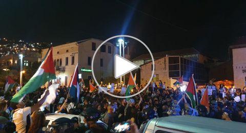 تجدد المظاهرات في حيفا: مساواة يناشد محامين بالتجند