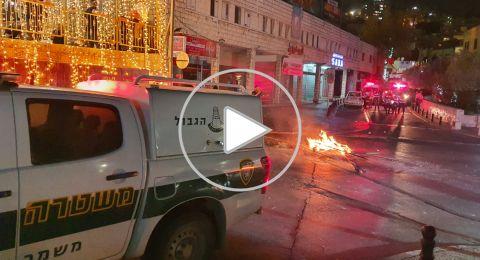 عشرات الاعتقالات في الناصرة وحيفا
