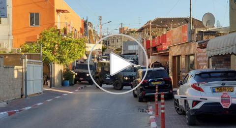 كفرقرع:حملة اعتقالات واسعة من قبل الشرطة ومداهمة المنازل