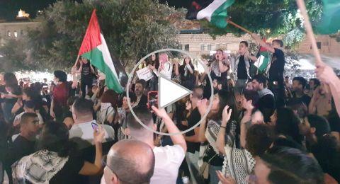 مباشر، بعد 16 معتقلا أمس: مواجهات عنيفة في الناصرة