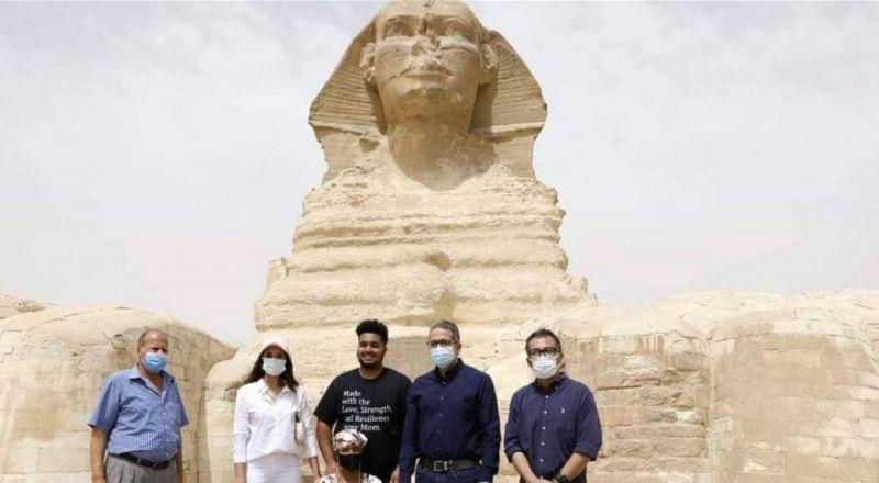 سيدة اميركية تحقق حلمها في مصر