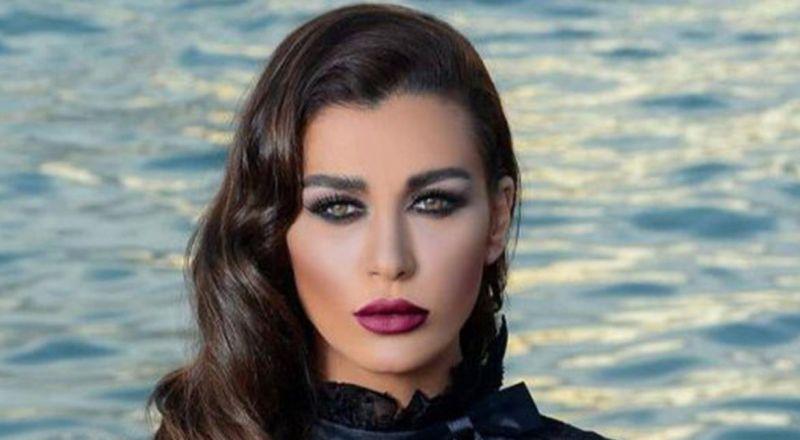 بدون ماكياج.. نادين الراسي تحتفل بعيد ميلاد خطيبها شاهدوا كيف بدت (صورة)