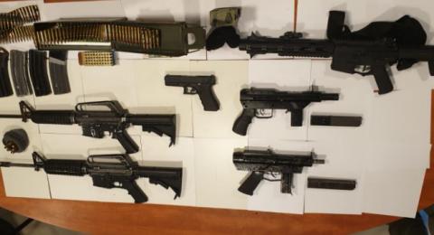 بالصور والأرقام - أسلحة وقنابل .. هذا ما عثرت عليه الشرطة بالأسبوعين الأخيرين